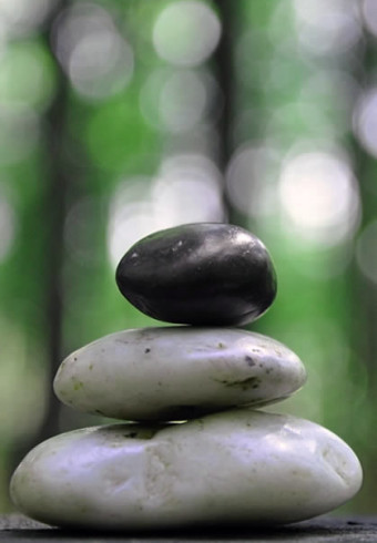 Mindfulness en Madrid piedras